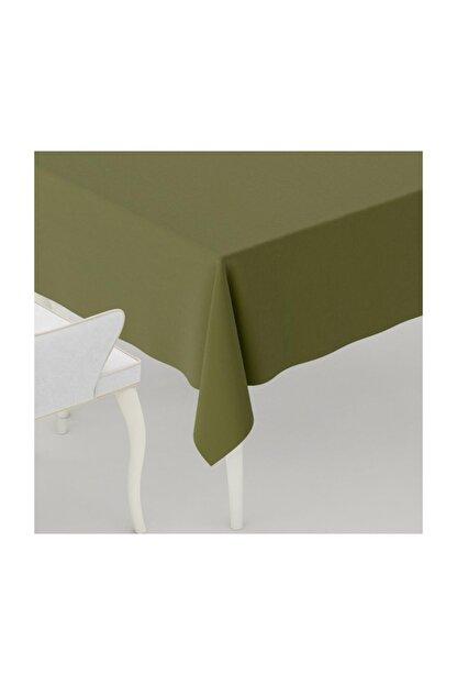 LARİS Duck Kumaş Masa Örtüsü Leke Tutmaz Yeşil 110x110 cm