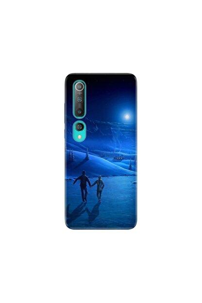 cupcase Xiaomi Mi Play Kılıf Desenli Esnek Silikon Telefon Kabı Kapak - Cold Love
