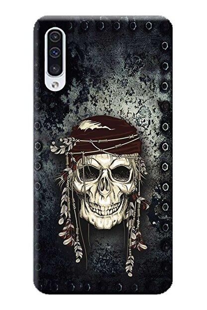 Kılıfmerkezi Samsung Galaxy A30 Kılıf Sm-a305f Desen Baskılı Silikon Kuru Kafa Stk:584