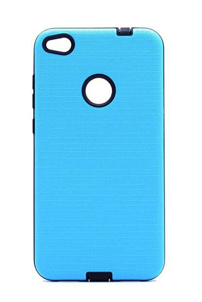 Elfia Huawei Honor 8 Lite Kılıf Pastel Canlı Renk Tıpalı Koruma Kapak