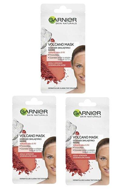 Garnier Volkanik Kaya & Kül Içeren Gözenek Sıkılaştırıcı Maske 8 ml 3'lü Set 3600542032575