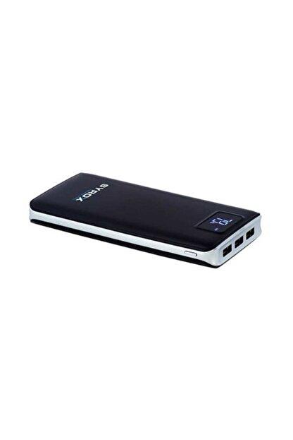 Syrox Powerbank Taşınabilir Batarya Ekranlı 20000mAh PB107 Siyah/Beyaz