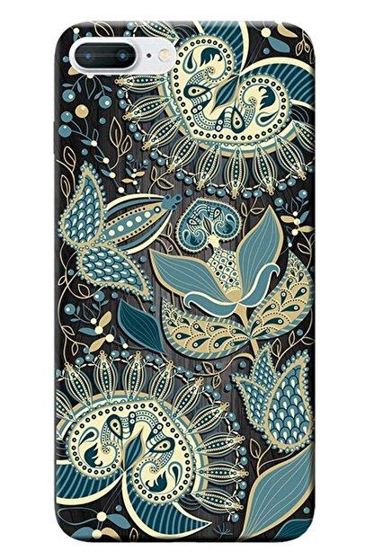 Kılıfmerkezi Iphone 7 Plus Kılıf Desen Baskılı Silikon Vektör Tasarım Stk:538