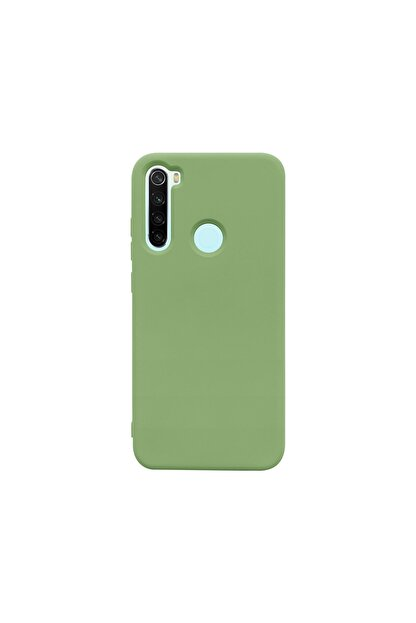 casemarkt Xiaomi Redmi Note 8 Lansman Yeşil Silikon Telefon Kılıfı Mikro Fiber Iç Yüzey