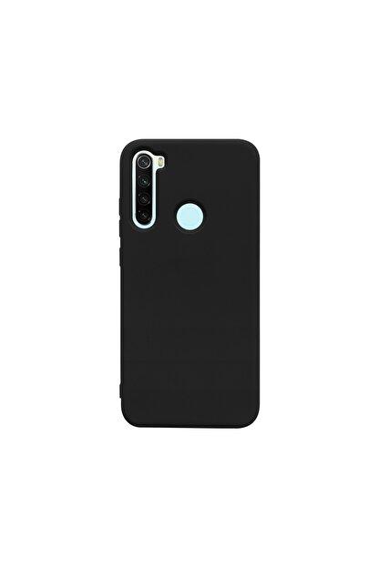 casemarkt Xiaomi Redmi Note 8 Lansman Siyah Silikon Telefon Kılıfı Mikro Fiber Iç Yüzey