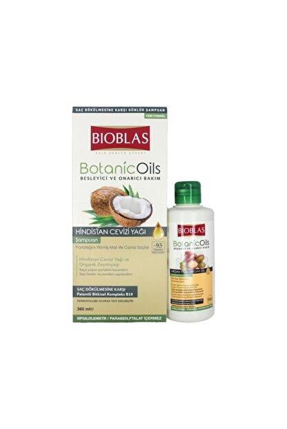 Bioblas Mat Ve Cansız Saçlar Için Şampuan+argan Yağı Şampuan