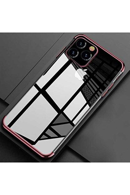 Zipax Apple Iphone 11 Pro Kılıf Zippy Dört Köşeli Lazer Silikon