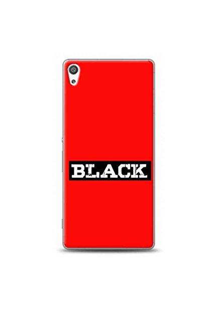 Kılıf Madeni Sony Xperia Xa1 Black Kırmızı Koleksiyon Telefon Kılıfı Y-krmklf259