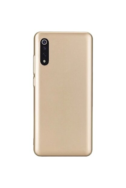 Zengin Çarşım Xiaomi Mi 9 - Mi 9 Lite Yumuşak Silikon Kılıf Gold