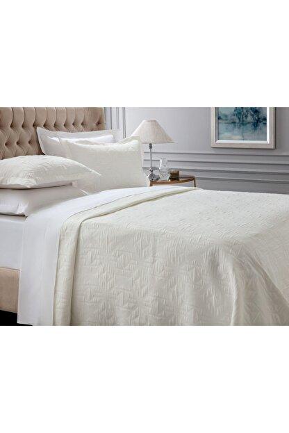 Madame Coco Iven Çift Kişilik Yatak Örtüsü - Beyaz