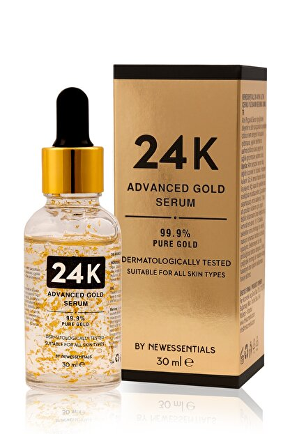 New Essentials 24k Advanced Gold Serum 30 Ml