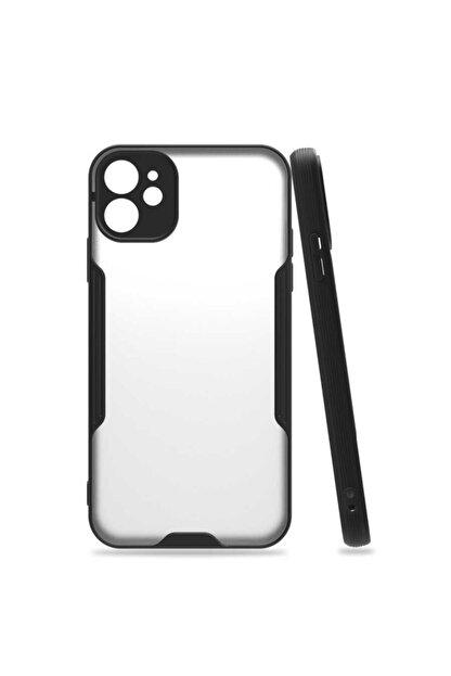 Nezih Case Apple Iphone 11 Silikon Kılıf (parmak Izi Yapmaz Leke Tutmaz) Siyah