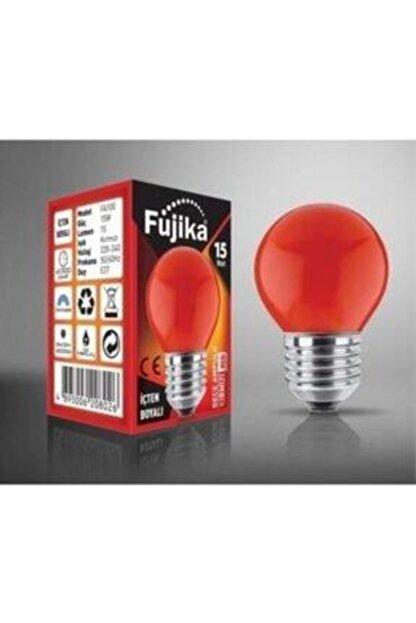 Fujika 15 Watt Renkli Gece Lambası Ampulü Kırmızı Renk -k