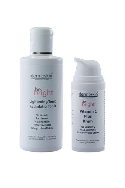 Dermoskin Be Bright Vitamin C Plus Krem 33ml + Be Bright Aydınlatıcı Tonik 200ml
