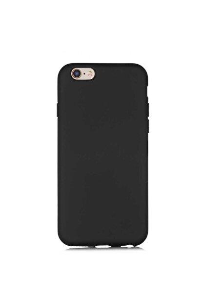 Nezih Case Apple Iphone 6/6s Silikon Kılıf (kadife Iç Yüzey Kaymayan Soft Tasarım) Siyah