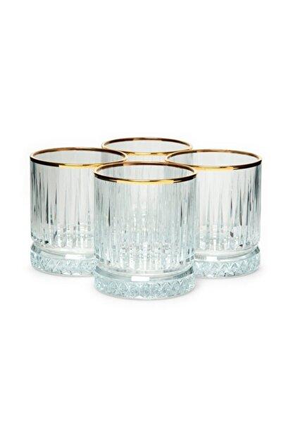 Paşabahçe Meşrubat Bardağı Elysıa Yaldızlı 4 Parça
