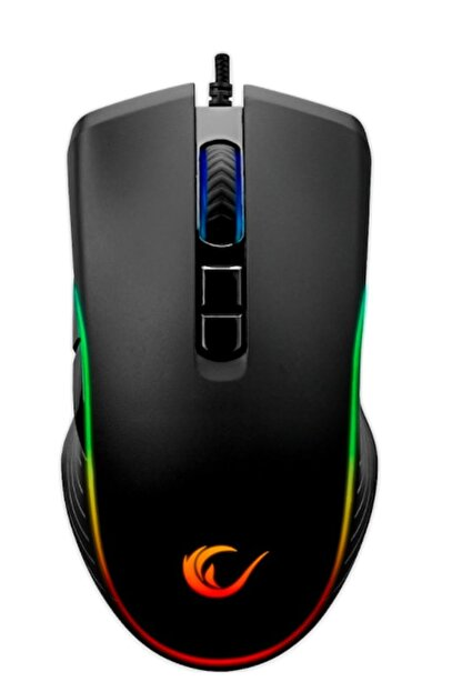Rampage Smx-r120 Slash 4800 Dpı Rgb Ledli Gaming Oyuncu Mouse