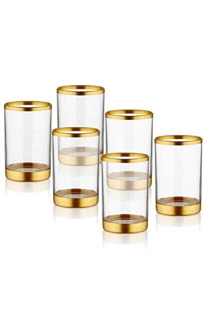 The Mia Gold Glam Kahve Yanı Su Bardağı