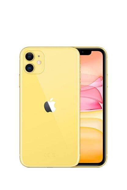 Apple iPhone 11 64GB Sarı Cep Telefonu (Apple Türkiye Garantili) Aksesuarsız Kutu