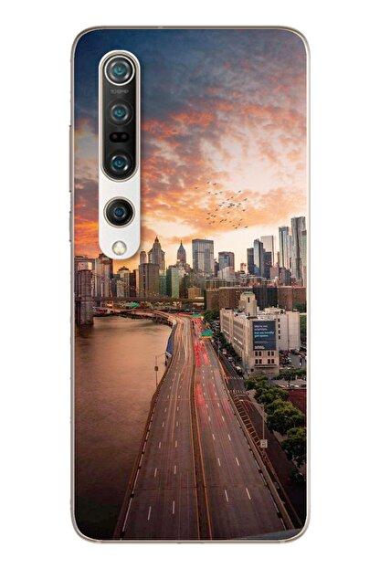 Spoyi Cadde Tasarımlı Süper Şeffaf Silikon Telefon Kılıfı Xiomai Mi10-pro