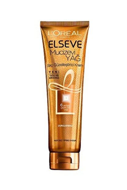 Elseve Mucizevi Yağ Saç Güzelleştirici Krem 150 Ml