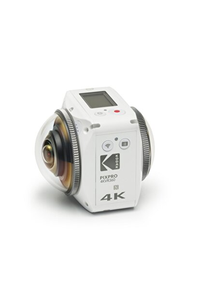 Kodak Pixpro 4KVR360 Standart Pack Aksiyon Kamera