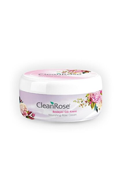 Clean Rose Besleyici Gül Kremi 125 ml