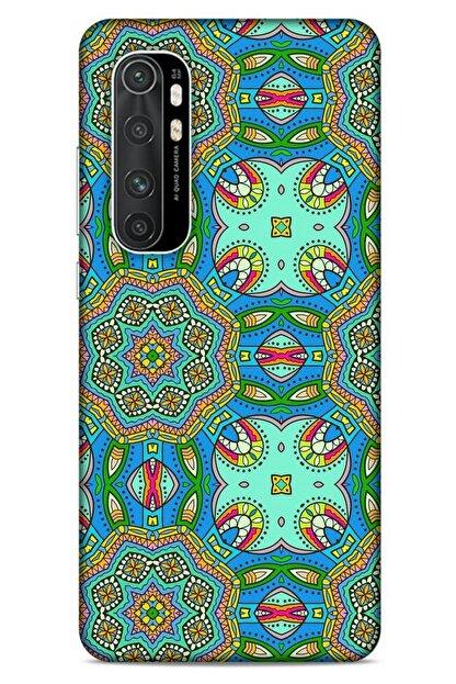 Lopard Ethnic Culture (99) Xiaomi Mi Note 10 Lite Kılıf Silikon Kapak