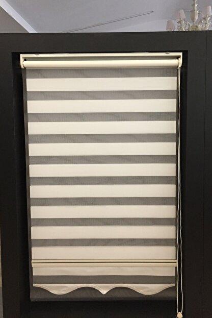 CLARISS HOME Krem Etek Modelli Zebra Perde