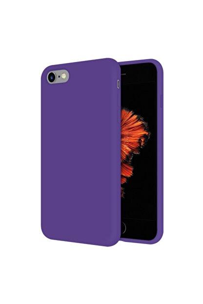 Mobilteam Apple Iphone 6s Kılıf Içi Kadife Lansman Kapak - Mor