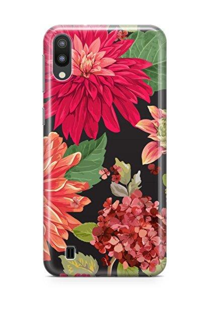 Melefoni Samsung Galaxy M10 Kılıf Flower Serisi Willow