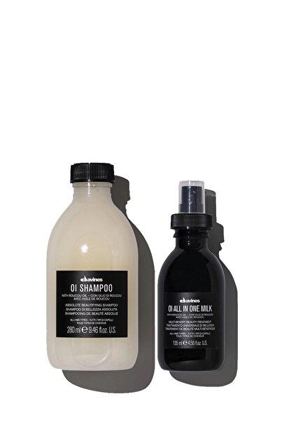Davines Oi/oil Sülfatsız Şampuan 280ml + Bakım Sütü 135 Ml