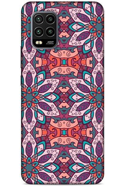 Lopard Ethnic Culture (8) Xiaomi Mi 10 Lite Kılıf Silikon Kapak Desenli