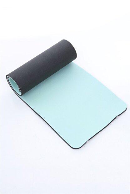 Dafron Turkuaz Siyah Yoga Mat 180 X 60 X 1,6 cm Df200
