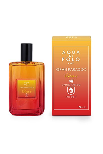 Aqua Di Polo Gran Paradiso Volcano Edp 50 ml Erkek Parfümü 8682367012791