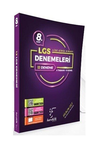 Karekök Yayınları 8. Sınıf Lgs 12'li Denemeleri 4 Tarama 8 Genel