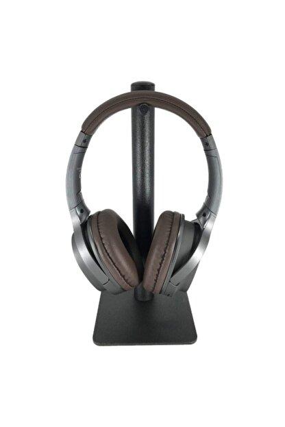 LESGO Siyah Masaüstü Metal Tekli Kulaklık Standı Oyuncu Kulaklık Standı