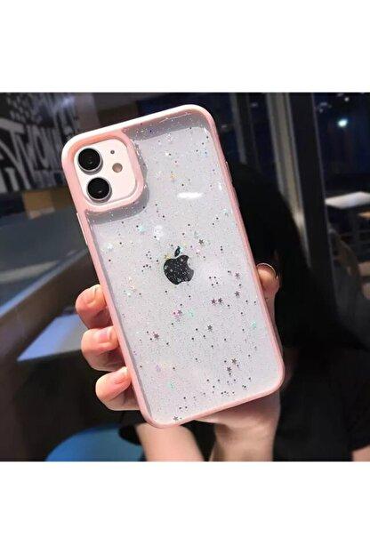 HEYO COVER Iphone 11 Pro Max Renkli Yıldız Kılıf