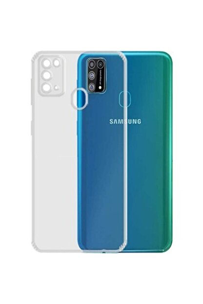 Di Aksesuar Samsung Galaxy M31 Tıpalı Kamera Korumalı Kaydırmaz Darbeye Dayanıklı Kılıf