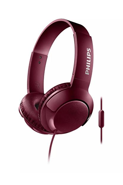 Philips SHL3075RD/00 Bass+mıkrofonlu Kırmızı Kulaklık