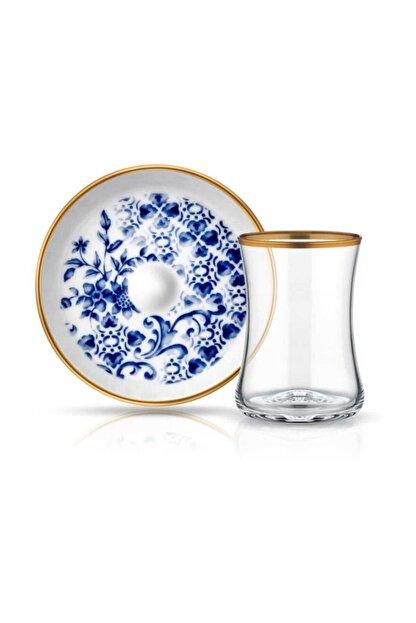 Koleksiyon Ev ve Mobilya Tiryaki 6 lı Çay Seti Meltem