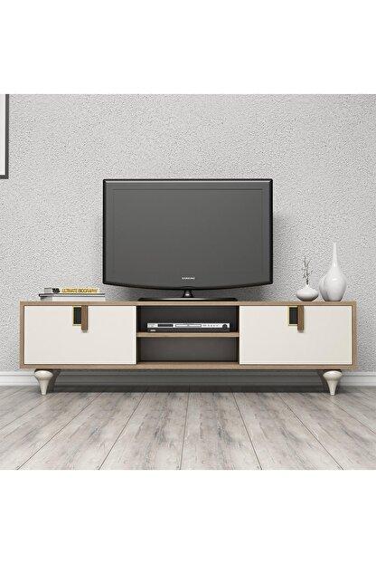 Cool Home Milas 150 Cm Ceviz-beyaz Tv Ünitesi