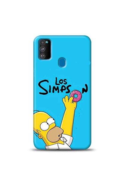 desecase Samsung Galaxy M21 Simpsons Homer Simpsons Tasarımlı Telefon Kılıfı(sim2)