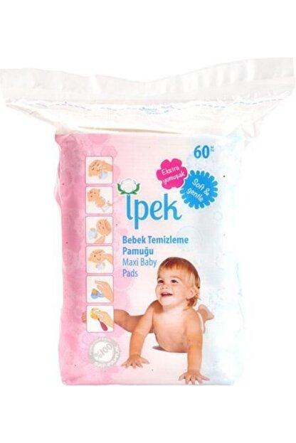 İpek Maxi Bebek Temizleme Pamuğu 60 Lı 30 Paket
