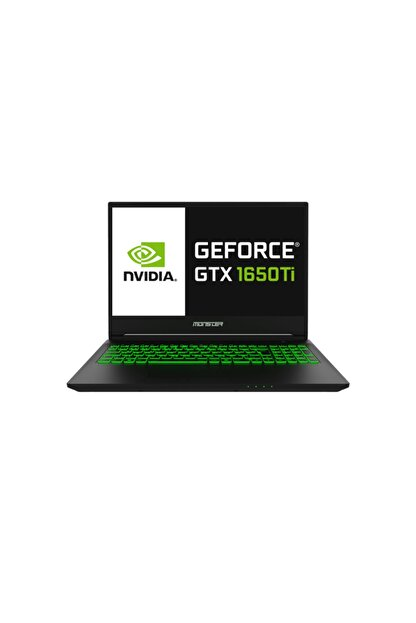 Monster Abra A5 V16.6.5 Intel Core I5 10200h 8gb 250ssd Gtx1650ti Freedos 15.6'' 120hz Ips Fhd