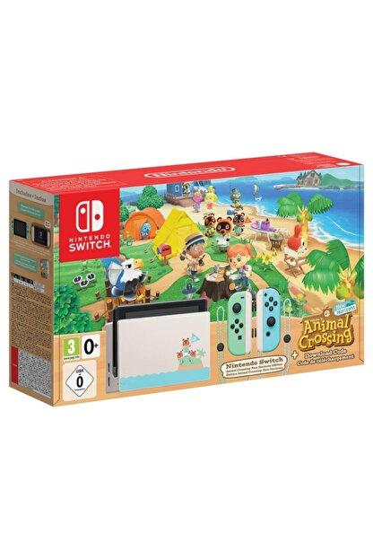 Nintendo Switch Animal Crossing Edition + Animal Crossing New Horizons Oyun
