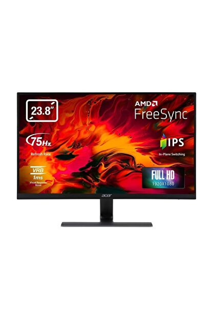 "ACER Nitro RG240Ybmiix 23.8"" 75Hz 1ms (HDMI+Analog) FreeSync Full HD IPS Monitör"