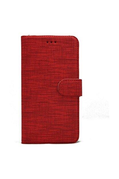 Omelo Huawei P20 Lite Ane-lx1 Kılıf Exclusive Spor Cüzdan Kumaş Kredi Kartı Para Bölmeli Standlı