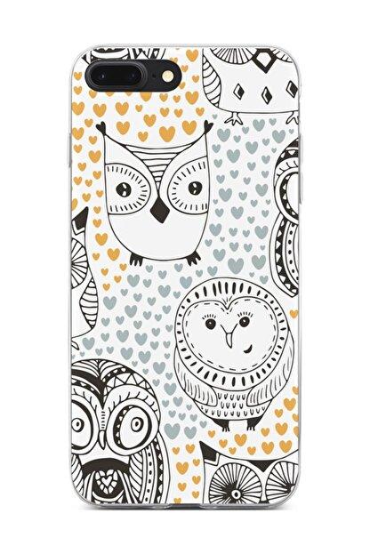 Melefoni Apple iPhone 7 Plus Kılıf Owl Serisi Teagan