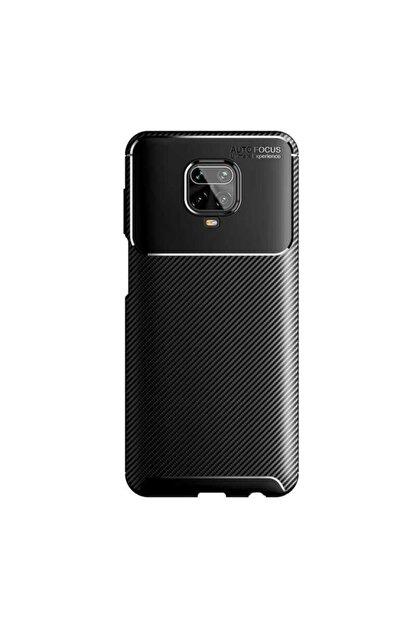 Xiaomi Redmi Note 9 Pro Silikon Kılıf Siyah